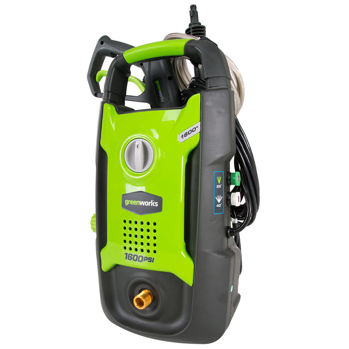 GreenWorks GPW1602 1,600-Psi 13-Amp Electric Vertical Pressure Washer - 5101802