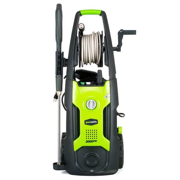 GreenWorks 5102002 2,000-Psi Portable Brushless Electric Pressure Washer