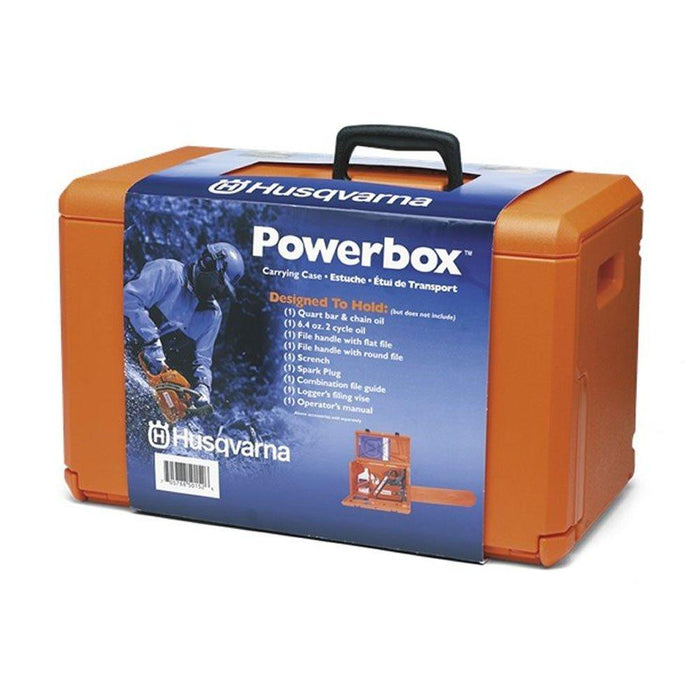 Husqvarna 576739001 20-Inch Heavy Duty Powerbox Chainsaw Carrying Case
