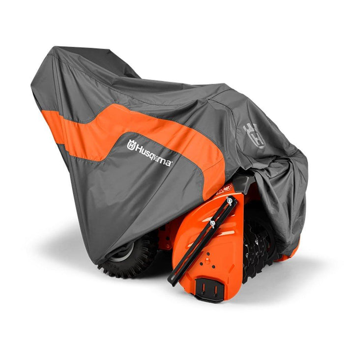 Husqvarna 582846301 Gray Heavy Duty Snow Thrower Blower Protective Tarp Cover
