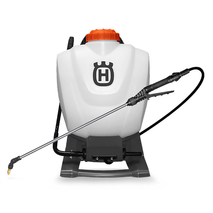 "Husqvarna 596765901 4 Gallon Professional Backpack Sprayer w/ 50"" PVC Hose"