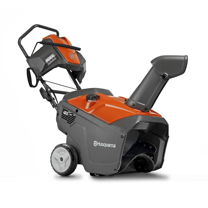 Husqvarna 961830004 208cc 21-Inch Engine Electric Start Single Stage Snow Blower
