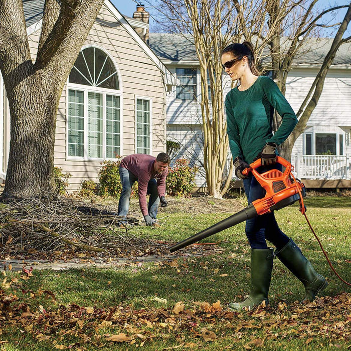 Black and Decker BEBL7000 12-Amp 3-in-1 VACKPACK Leaf Blower/Vacuum/Mulcher