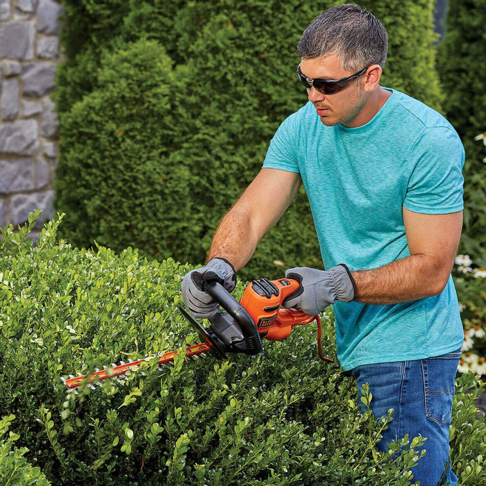 Black and Decker BEHT100 16-Inch 3.0-Amp Dual-Action Electric Hedge Trimmer