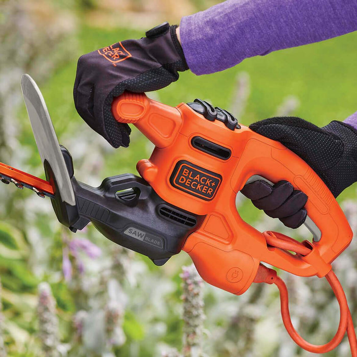 "Black and Decker BEHTS125 16"" 3.0-Amp Corded Electric Sawblade Hedge Trimmer"