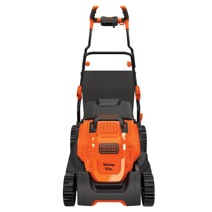 "Black and Decker BEMW482BH 17"" 12-Amp Height Adjusting Comfortgrip Lawn Mower"