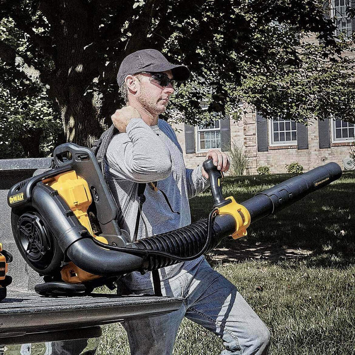 DeWALT DCBL590X2 40-Volt 7.5Ah Dual-Battery Backpack Blower w/ Two Batteries