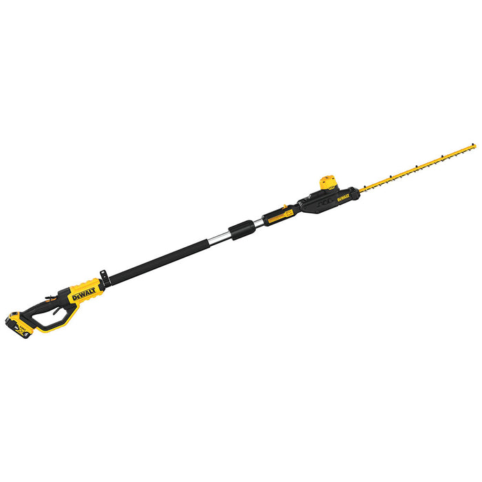 DeWALT DCPH820M1 20V MAX Cordless Brushless Lithium-Ion Pole Hedge Trimmer Kit