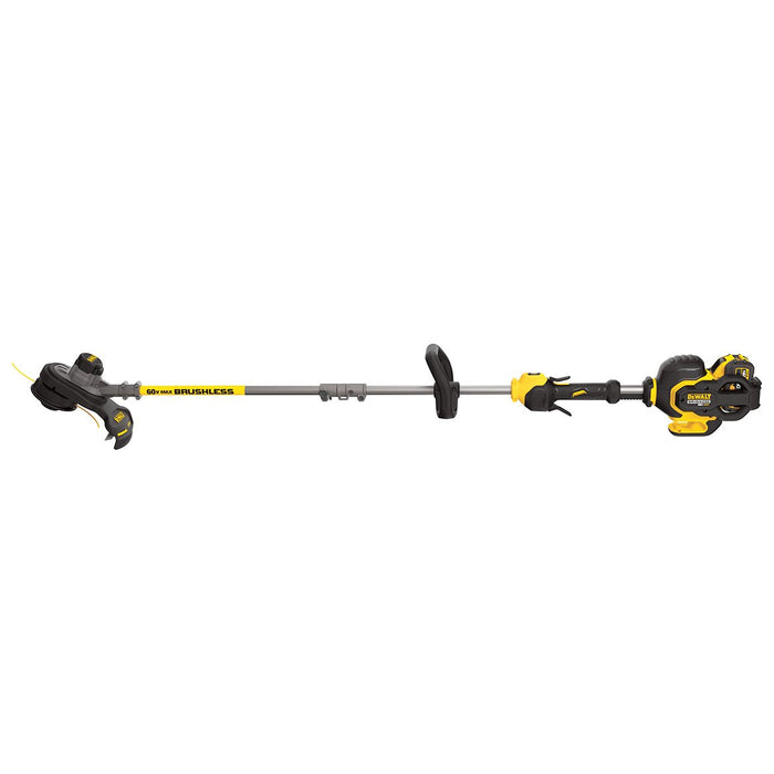 DeWALT DCST970X1 60-Volt 15-Inch 3.0Ah Gear Drive Variable-Speed String Trimmer