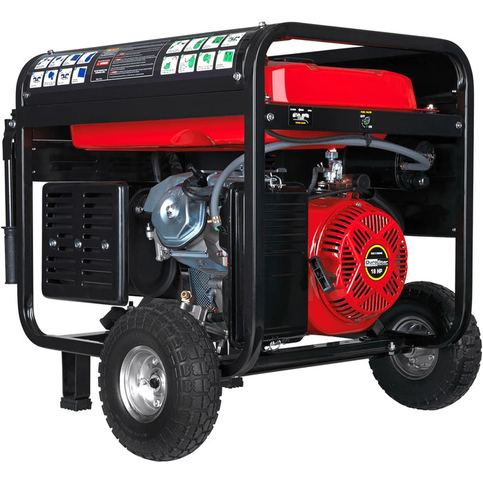 DuroStar DS10000EH 10,000W 18-Hp Dual Fuel Hybrid Generator w/ Electric Start