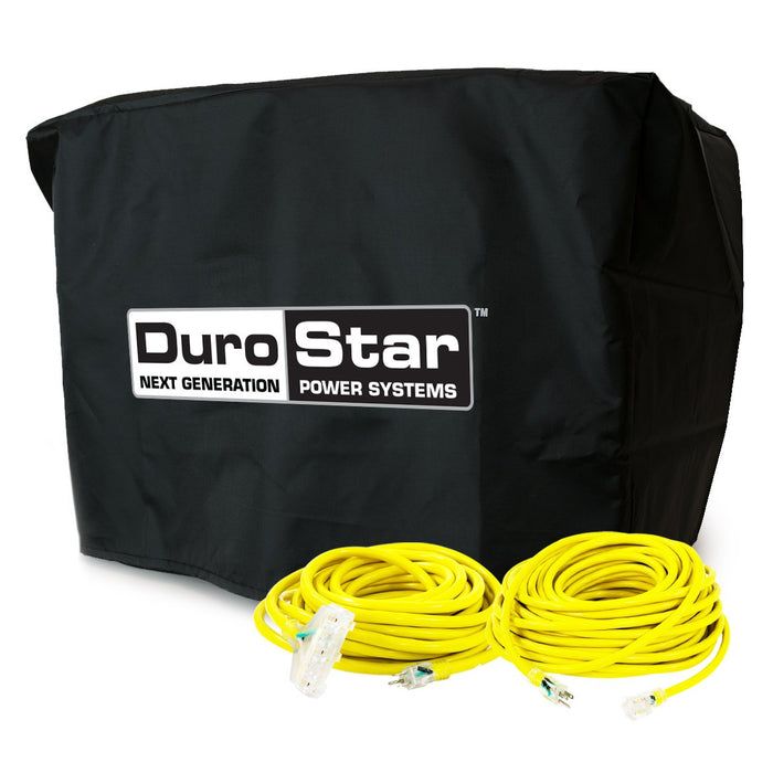 DuroStar DS4000-DXKIT 25-Foot Extension Power Cord Kit w/ Generator Cover