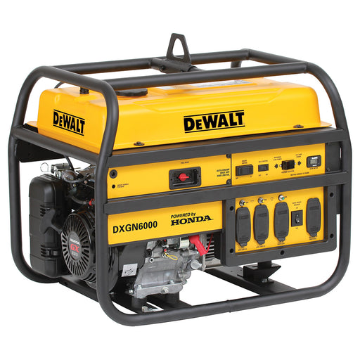 DeWALT DXGN6000 6,000-Watt 120/240-Volt Recoil Start Commercial Generator