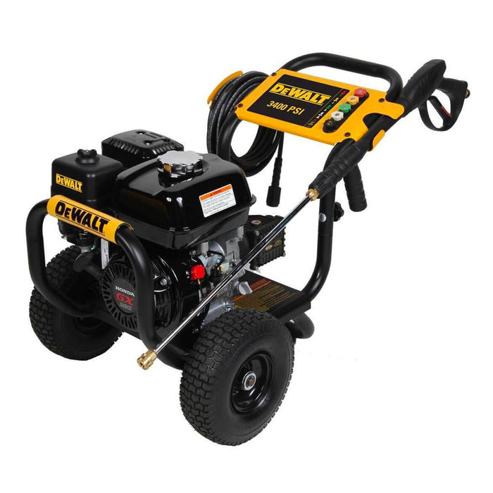 DeWALT 60697 3400-Psi 2.5-Gpm Gas Powered Cold Water Pressure Washer
