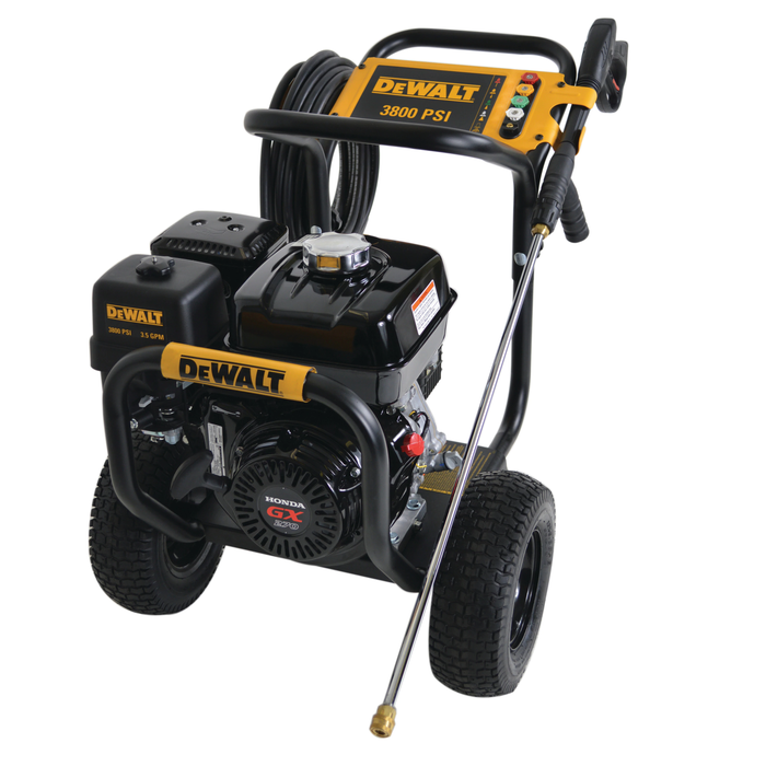DeWALT DXPW3835 3800 PSI 3.5 GPM Gas Cold Water Pressure Washer Powered by Honda