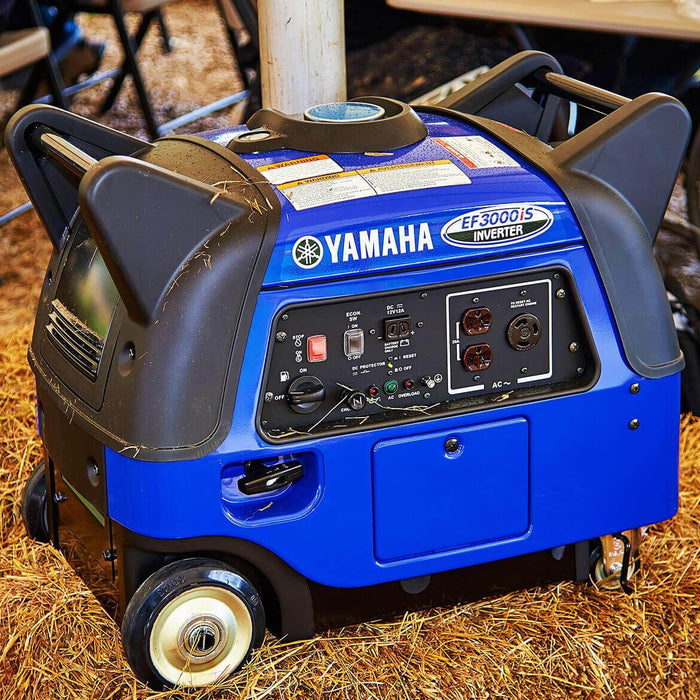 Yamaha EF3000iS 3000-Watt 120-Volt 25-Amp Portable inverter Generator