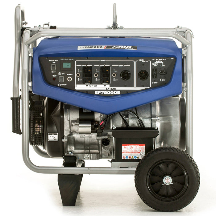 Yamaha EF7200DE 358cc 7,200-Watt 120/240-Volt Dual Voltage Electric Start Generator