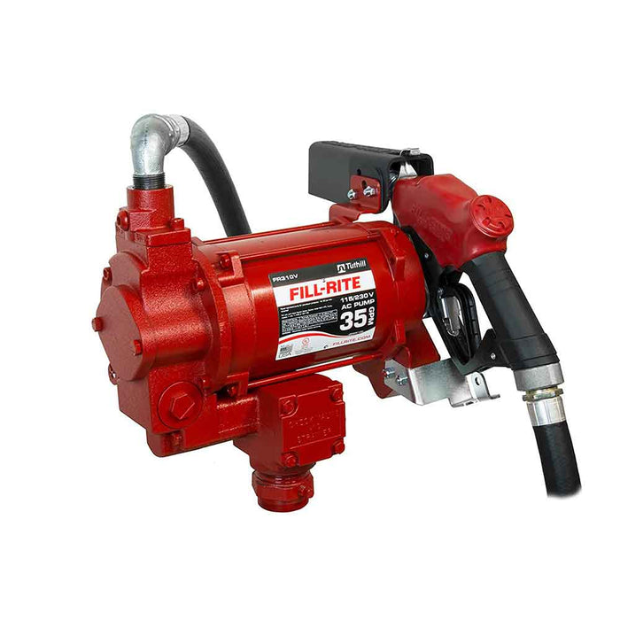 Fill-Rite FR310VB 30 GPM 115/230-Volt AC 1-Inch Cast Iron Super High Flow Pump