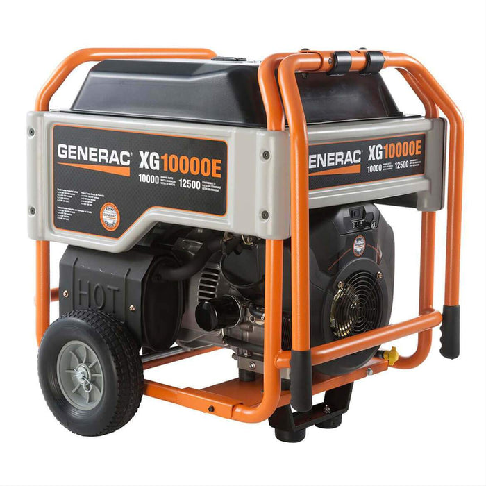 Generac XG10000E 530cc 10,000-Watt 120/240-Volt Electric Start Porable Generator - 5802