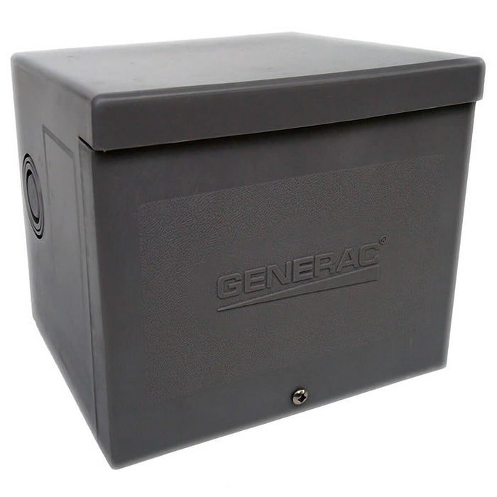 Generac GNC-6338 50 Amp 4-Wire 125/250 Volt Raintight Resin Power Inlet Box Cs6365