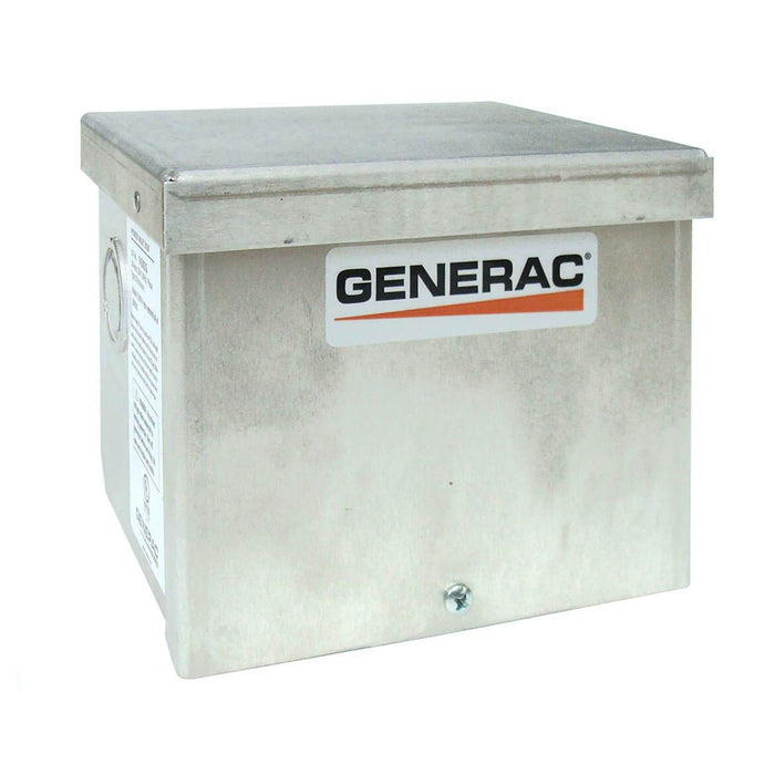 Generac GNC-6343 30 Amp 125/250 Volt Raintight Aluminum Power Inlet Box Nema L14-30