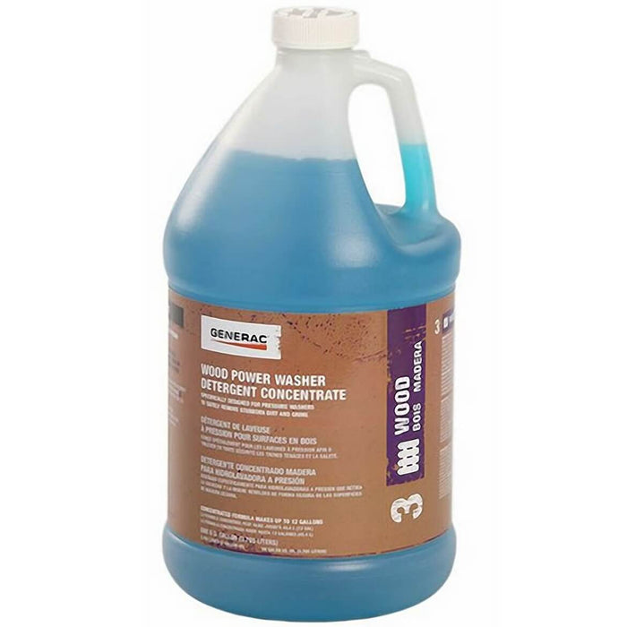 Generac GNC-6661 1-Gallon Wood & Siding Pressure Washer Detergent Super Concentrate