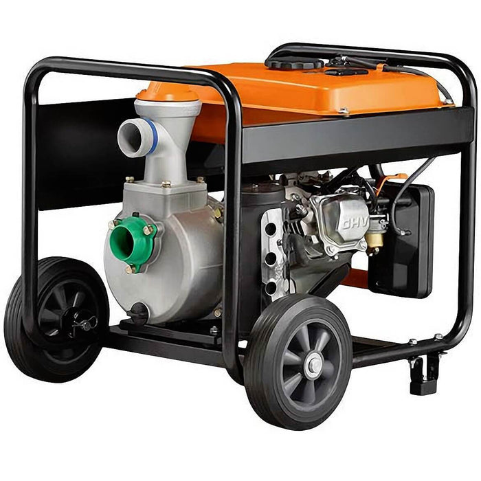 Generac 6822 208cc 158-Gpm 2-Inch Gas Powered Semi-Trash Water Pump