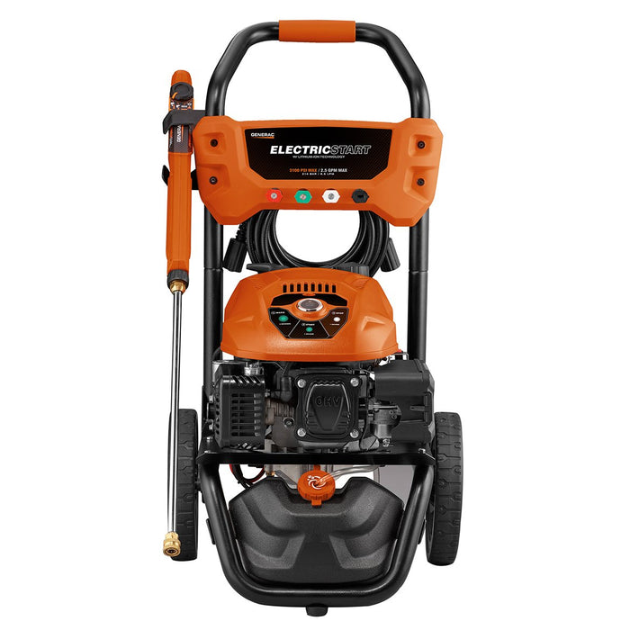Generac 7132 3100-Psi 2.5-Gpm Cold Water Electric Start Residential Pressure Washer