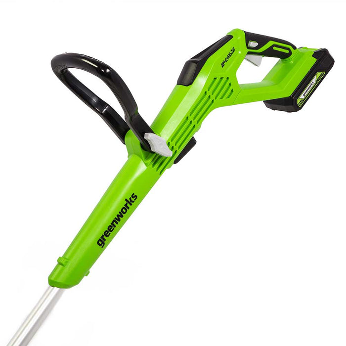 "GreenWorks Commercial 24T12 24V 12"" Cordless Brushless Compact String Trimmer"