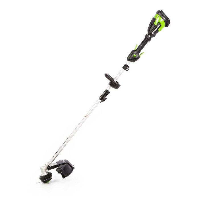 "GreenWorks Commercial 48T16 48V 16"" Li-Ion Attachment Capable String Trimmer Kit"