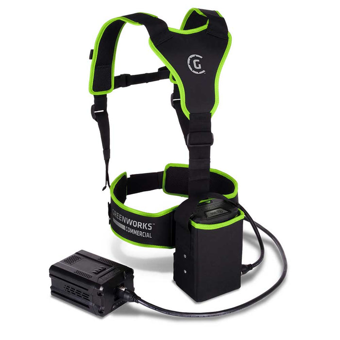 GreenWorks Commercial AWP100 82V Commercial Battery Waist Belt Harness