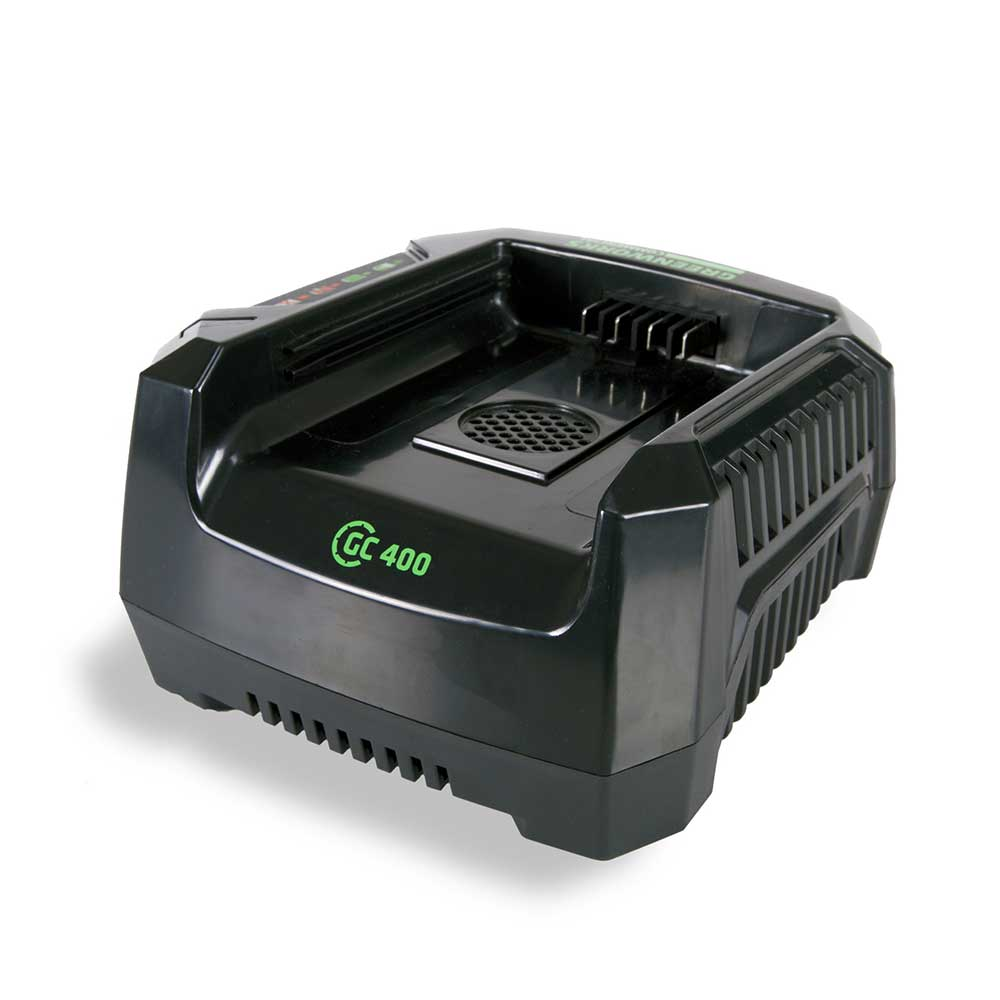 GreenWorks Commercial GC400 82V 4A High Performance Quiet Li-Ion Rapid Charger