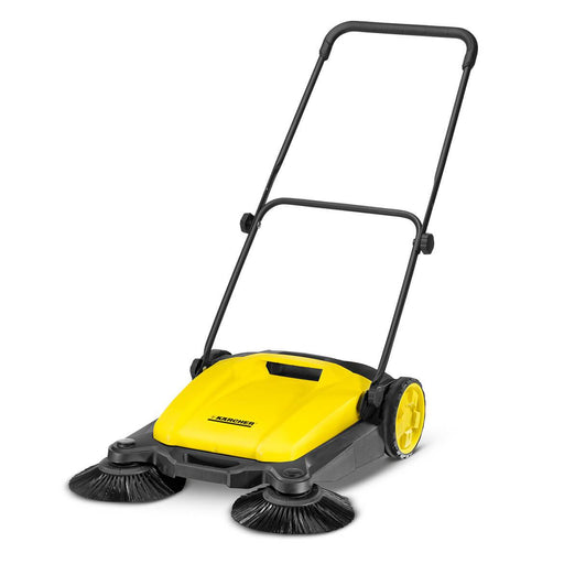 Karcher 1.766-303.0 Fast Two-Stage Height Adjustment Outdoor Push Sweeper
