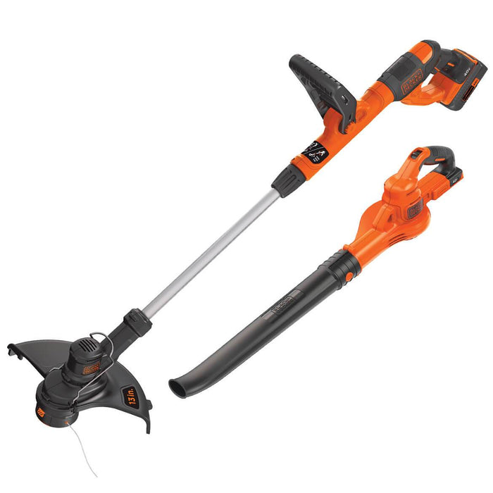 Black and Decker LCC340C 40-Volt Lithium-Ion String Trimmer/Sweeper Combo Kit
