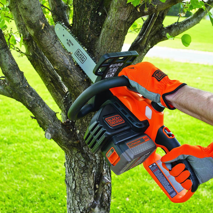 Black and Decker LCS1240B 40-Volt 12-Inch Cordless Chainsaw - Bare Tool