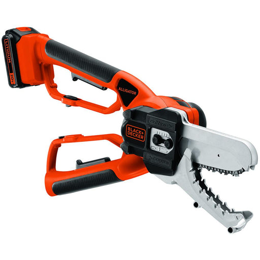Black and Decker LLP120 20-Volt Cordless Lithium-Ion Alligator Lopper Chainsaw
