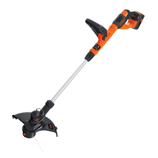 Front view of the Black and Decker LST140C String Trimmer