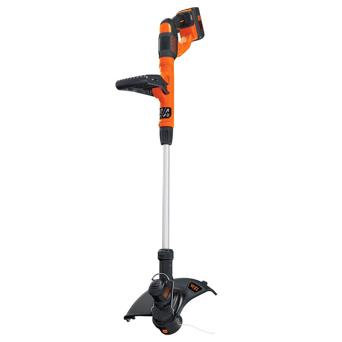 top view of the Black and Decker LST140C String Trimmer