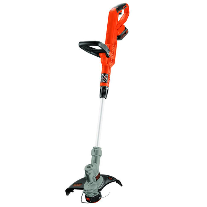 top view of the Black and Decker LST300 String Trimmer