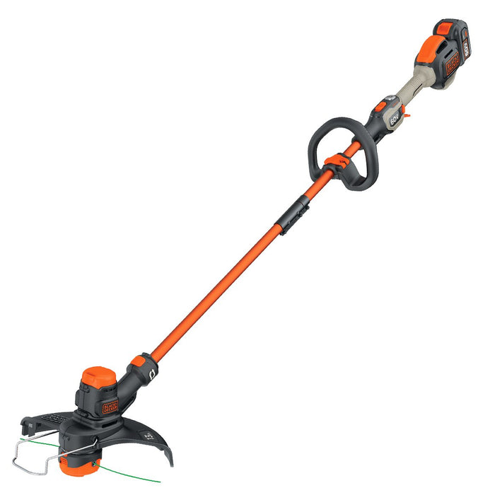 Front view of the Black and Decker LST560C String Trimmer