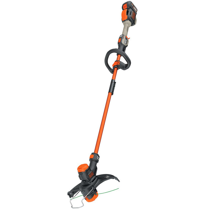 top view of the Black and Decker LST560C String Trimmer