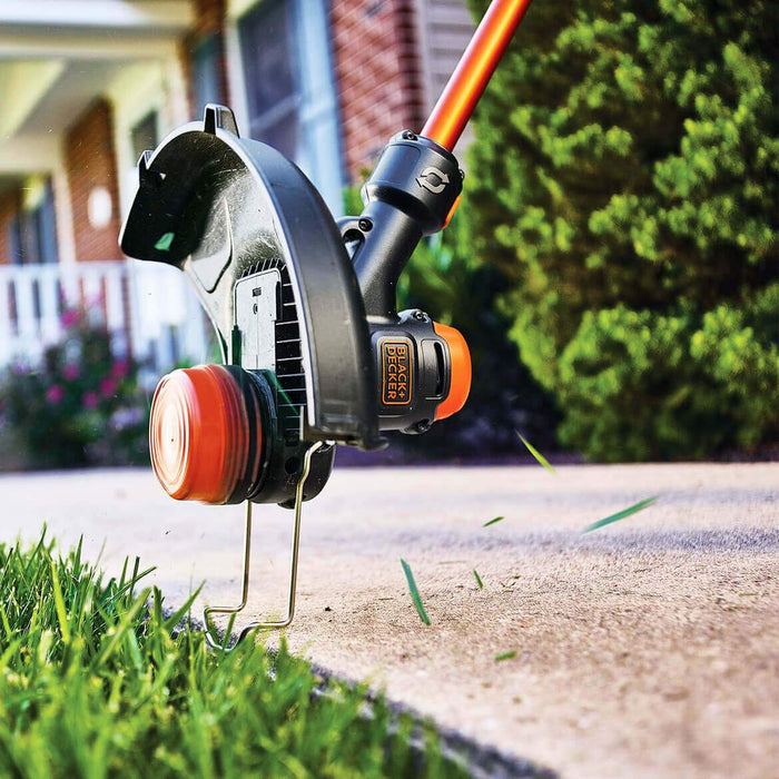 using the Black and Decker LST560C String Trimmeras an edger