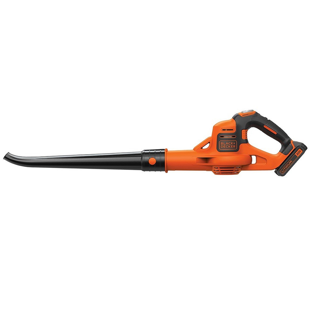 Front view of the Black and Decker LSW321 Leaf Blower