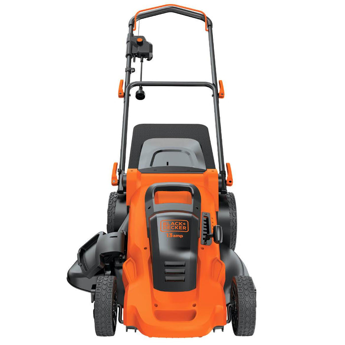 Top of Black and Decker MM2000 Electric Lawn Mower