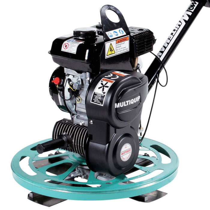 Multiquip CA4HM 3.5-Hp 130-Rpm 4-Blade 24-Inch Walk Behind Power Trowel