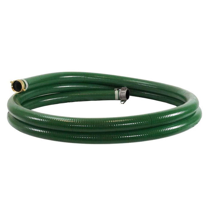 Multiquip HSQ420 4-Inch Diameter 20-Foot Quick Connect Coupler PVC Suction Hose