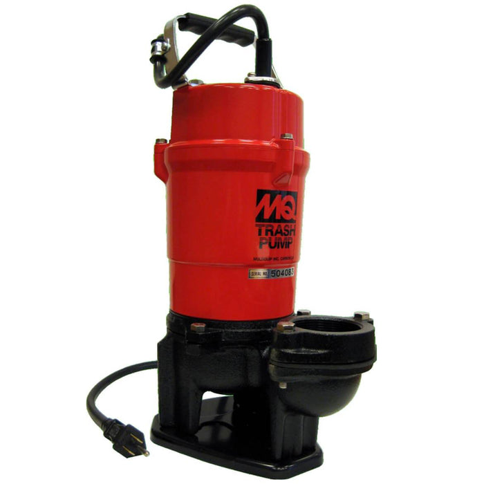 Multiquip ST2040T 1-Hp 115-Volt 79-Gpm 2-Inch Suction Submersible Trash Pump