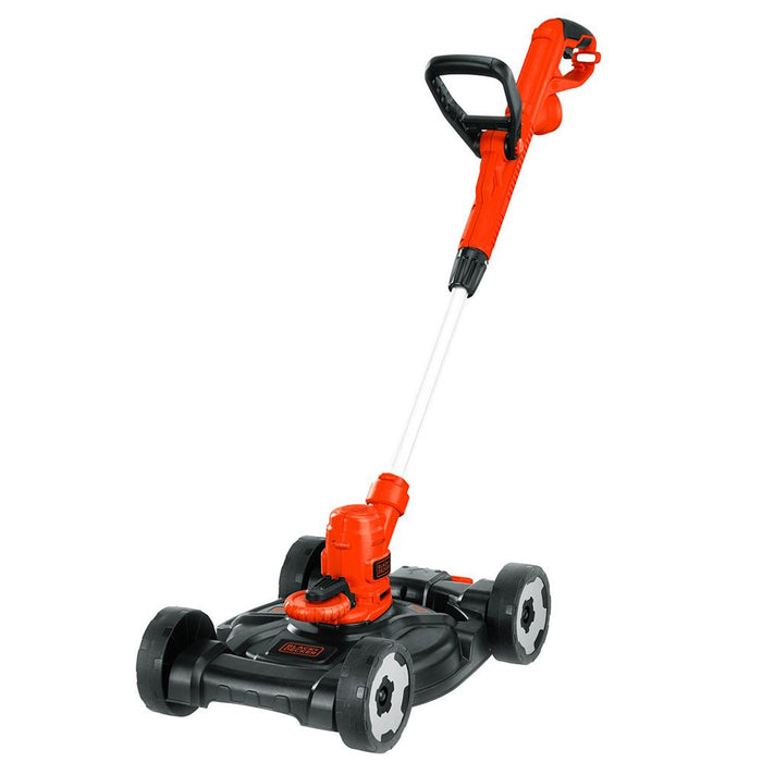 Front of tbe Black and Decker MTE912 Trimmer Edger Mower