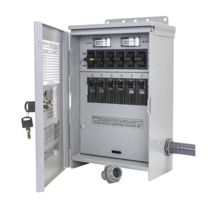 reliance r306a 120 240 volt 30 amp 6 circuit pro tran outdoor Double Throw Transfer Switch reliance r306a 120 240 volt 30 amp 6 circuit pro tran outdoor transfer \u2014 generator factory outlet