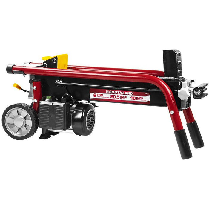 Southland SELS60 15 Amp Corded Heavy Duty 6-Ton Electric Steel Log Splitter