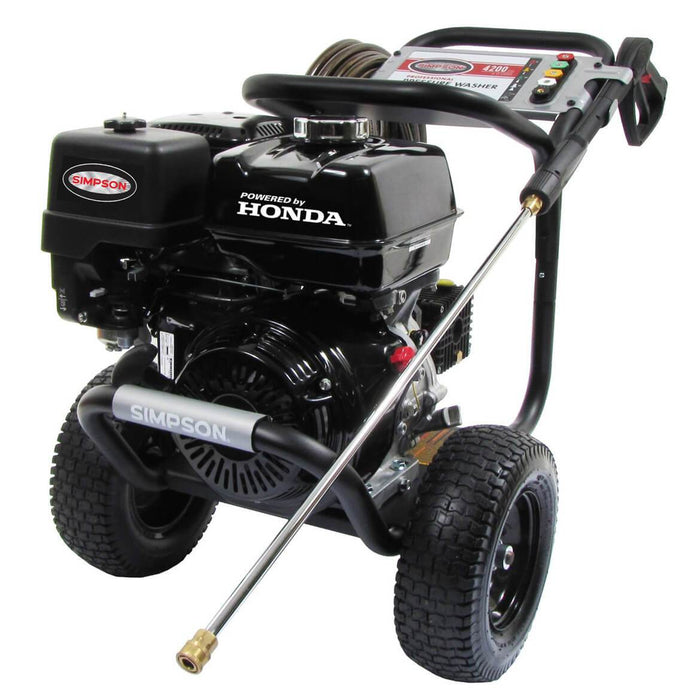 Simpson PS4240 4,200-Psi 4-Gpm Cold Water Gas PowerShot Pressure Washer